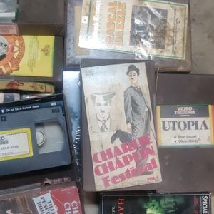 Vhs collector ?? & Cheech chong cd out of my room